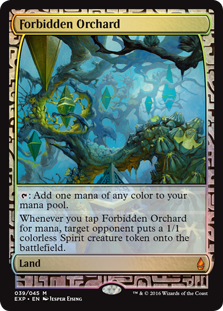Forbidden Orchard - Zendikar Expedition