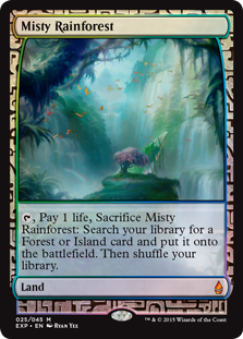 Misty Rainforest - Zendikar Expedition