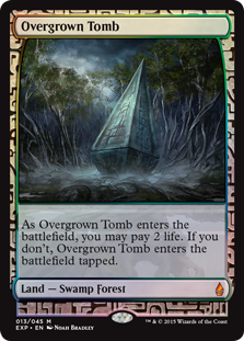 Overgrown Tomb - Zendikar Expedition