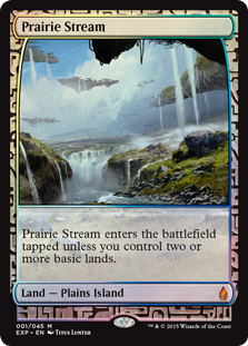 Prairie Stream - Zendikar Expedition