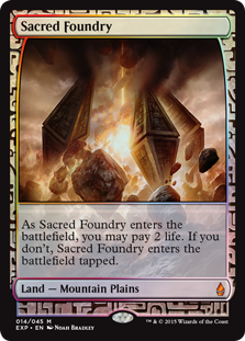 Sacred Foundry - Zendikar Expedition