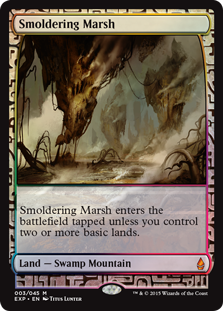 Smoldering Marsh - Zendikar Expedition