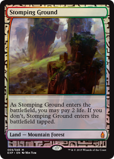 Stomping Ground - Zendikar Expedition