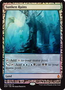 Sunken Ruins - Zendikar Expedition