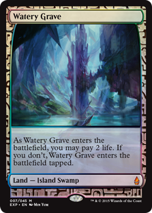 Watery Grave - Zendikar Expedition