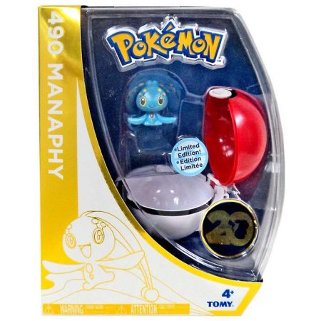Manaphy Poke Ball 20th Anniversary