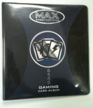 Max Protection: 3 Ring Binder - Black A4