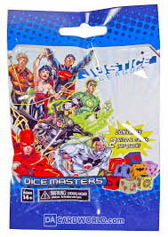 Marvel Dicemasters Justice League Booster Pack