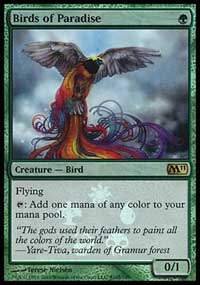 Birds of Paradise - Magic 2011 Buy-a-Box Promo