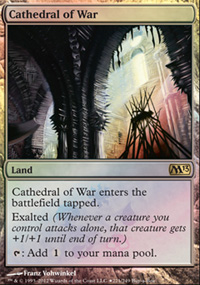 Cathedral of War - Magic 2013 Buy-a-Box Promo