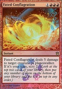 Fated Conflagration - Fate Reforged Buy-a-Box Promo