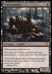 Gravecrawler - Dark Ascension Buy-a-Box Promo