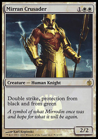 Mirran Crusader - Mirrodin Besieged Buy-a-Box Promo