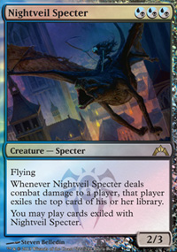 Nightveil Specter - Gatecrash Buy-a-Box Promo