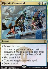 Ojutai's Command - Dragons of Tarkir Buy-a-Box Promo