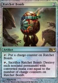 Ratchet Bomb - Magic 2014 Buy-a-Box Promo