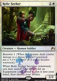 Relic Seeker - Magic Origins Buy-a-Box Promo