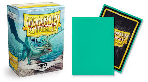 Dragon Shield Mint Matte Sleeves Standard x 100