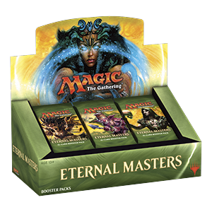 Eternal Masters Booster Display