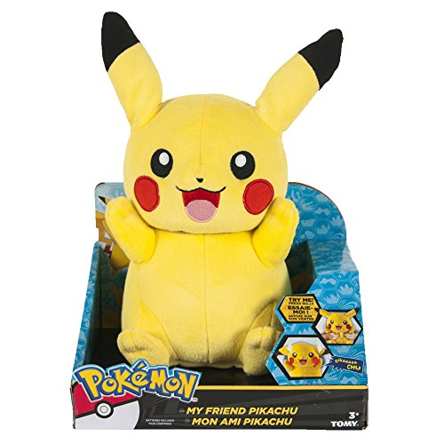 My Friend Pikachu Feature Plush