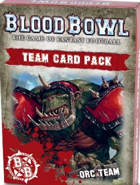 Blood Bowl Orc Team Card Pack