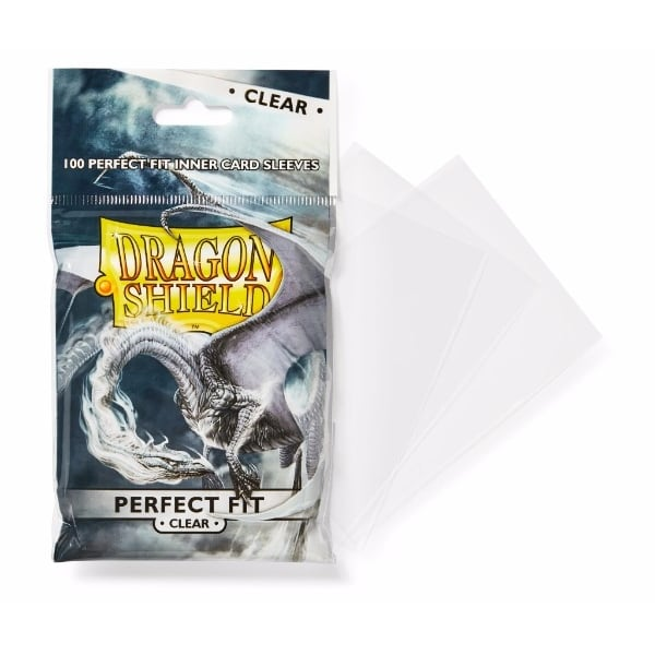 Dragon Shield Perfect Fit Clear 100 Sleeves