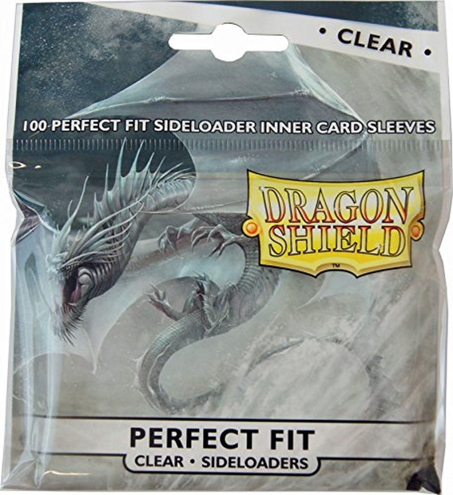 Dragon Shield Perfect Fit Clear Sideloaders Standard Size x 100