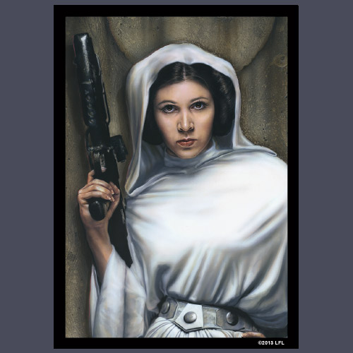 Star Wars Sleeves: Princess Leia 50 ct