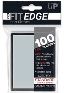 Ultra Pro Fit Edge sleeves Standard size x100