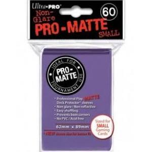 Ultra Pro Matte Purple Sleeves Small