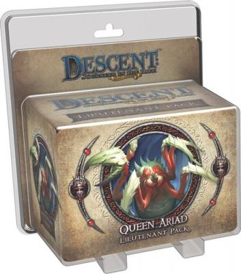 Descent 2nd Ed Queen Ariad Lieutenant Pack