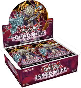 Legendary Duelist Rage of Ra Booster Box
