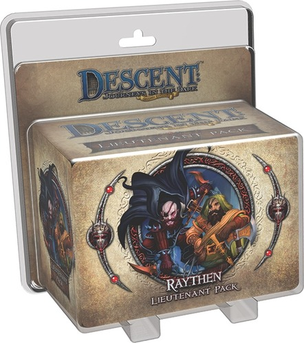 Descent: Journeys in the Dark: Raythen Lieutenant Pack
