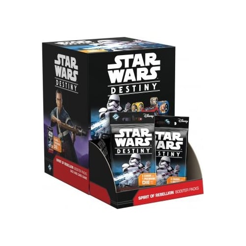 Spirit of Rebellion Booster Box Star Wars Destiny