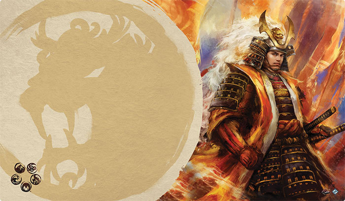 Legend of the Five Rings Right Hand of the Emperor Play Mat