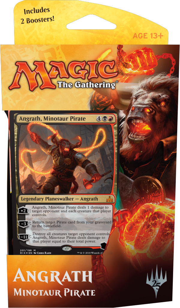 Rivals of Ixalan Planeswalker Deck - Angrath, Minotaur Pirate