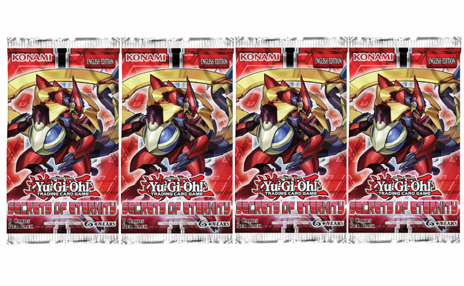 Yu-Gi-Oh! Secrets of Eternity booster pack