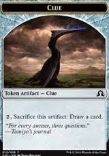Clue Token (12) - Shadows Over Innistrad