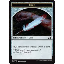 Clue Token (13) - Shadows Over Innistrad