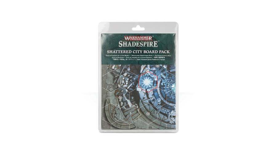 Shattered City Board Pack