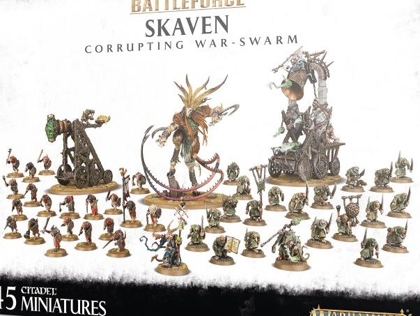 Battleforce: Skaven Corrupting War-Swarm