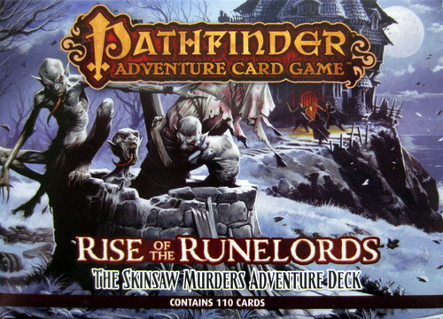 Pathfinder:Rise of the Rune Lords-Skinsaw Murders Adventure Deck