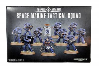 Space Marine Tactical Sqaud