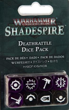 Shadespire Deathrattle Dice Pack