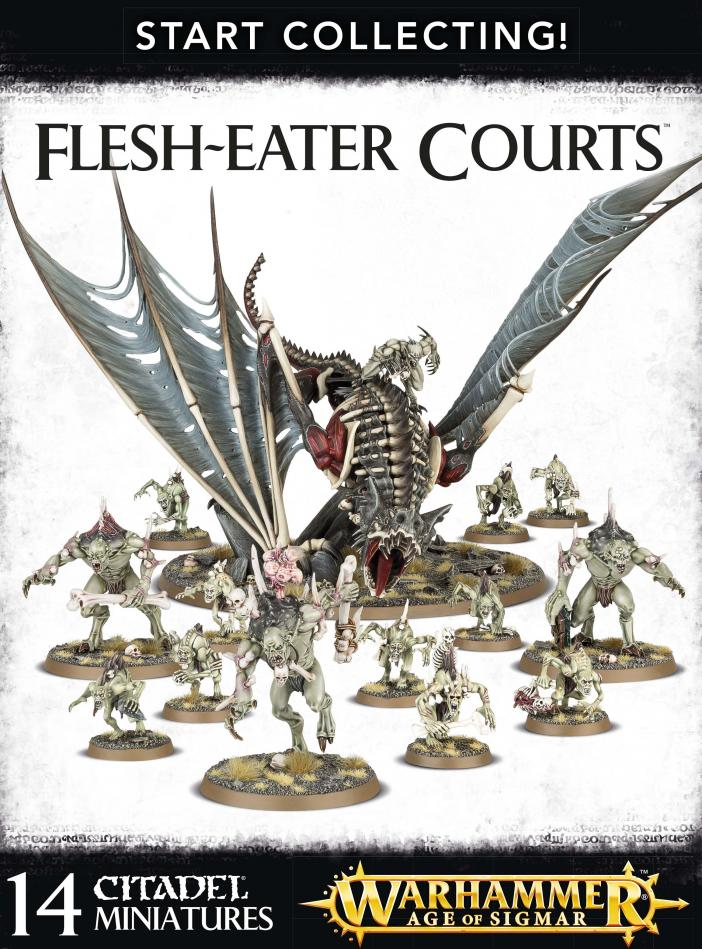 Start Collecting Flesh Eater Courts
