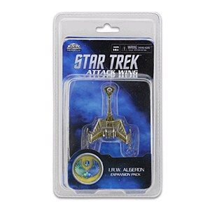 Star Trek Attack Wing I.R.W. Algeron Expansion