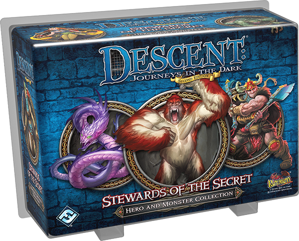 Stewards of the Secret Hero and Monster Collection Descent