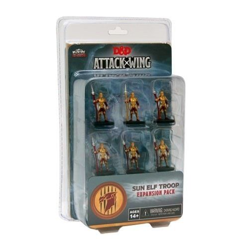 Dungeons & Dragons Attack Wing - Sun Elf Troop Expansion