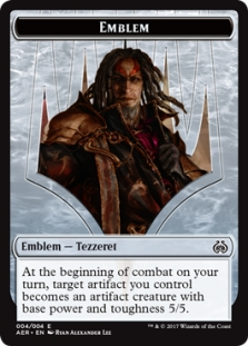 Emblem - Tezzeret the Schemer - Aether Revolt