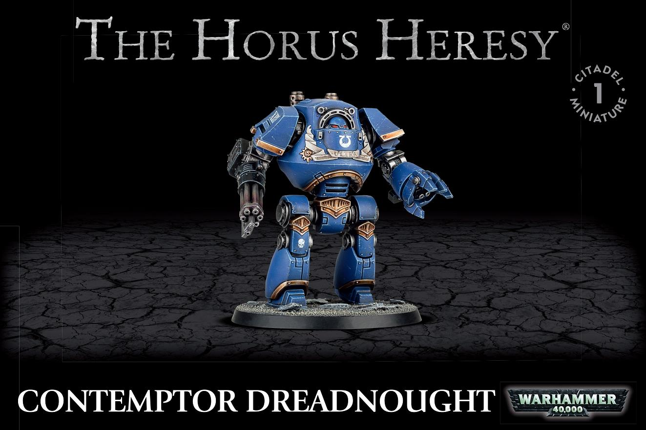 The Horus Heresy Contemptor Dreadnought
